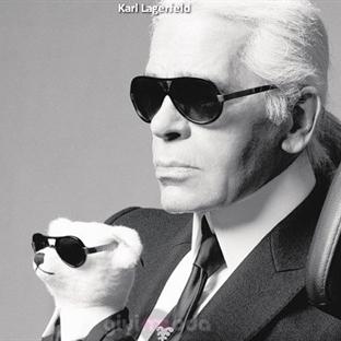 Modanın Kralı Alman Tasarımcı KARL LAGERFELDv
