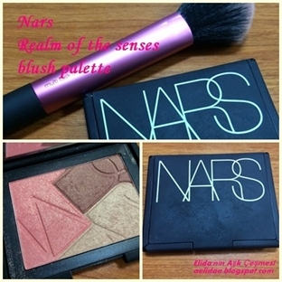 NARS REALM OF THE SENSES ALLIK PALETİ !