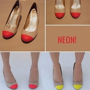 Neon Ayakkabı Yapımı