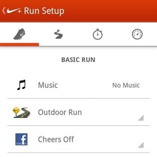 Nike+ Running Uygulaması