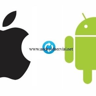 İphone Rehberini Android Rehbere Aktarmak