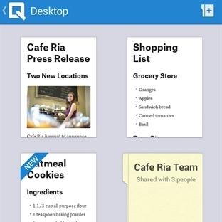 Quip Android Uygulaması