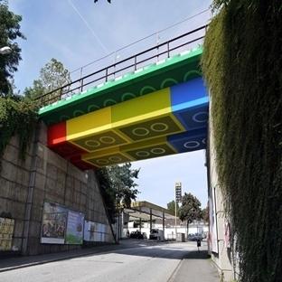 """Renkli Bir Proje """" Lego Köprü """""""
