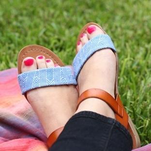 Renkli Sandalet Yapımı