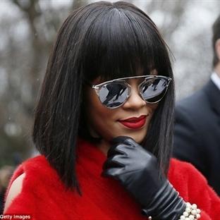 Rihanna'nın 2014 Saç Modeli