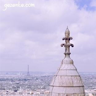Sacre Coeur'un Kubbesinden Paris Manzarası