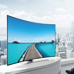 Samsung Curved UHD TV'ler