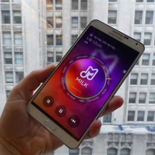 Samsung Müzik Uygulaması Milk Music'i Yayınladı