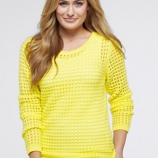 Sarı Bayan Kazak Modelleri 2014