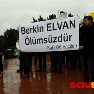 SAÜ'de Berkin Elvan için Eylem Yapıldı