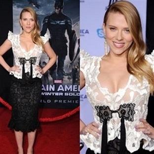 Scarlett Johansson'un Hamilelik Stili