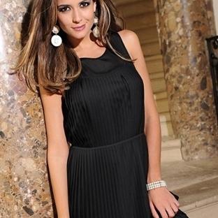 Şifon Ve Saten Elbise Modelleri 2014