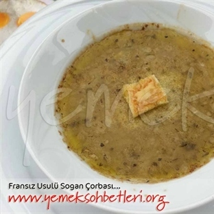 Soğan Çorbası (Fransız Usulü)