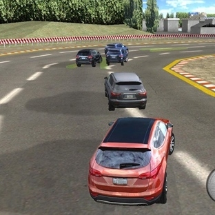 Suv Racing 3D Car Simulator Oyunu