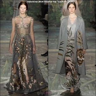 İtalyan Marka VALENTINO 2014 İlkbahar Yaz Couture