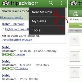Tripadvisor Android Uygulaması