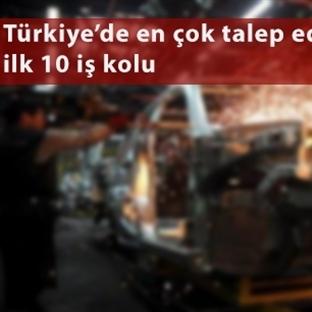 Türkiye'de En Fazla İhtiyaç Duyulan İş Kolları