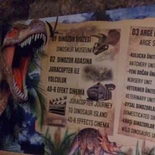 Türkiye'nin Tek Dinozor Parkı Jurassic LAND