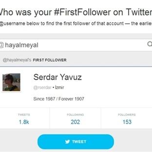 Twitter`daki İlk Takipçiniz Kimdi?