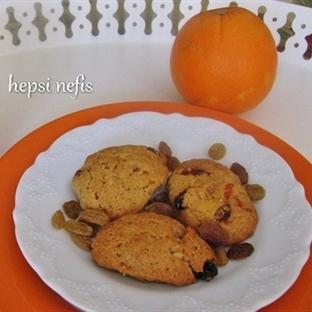 üzümlü kıtır kurabiye tarifi