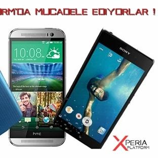Xperia Z2, HTC One (M8) ve Galaxy S5'e Karsı !
