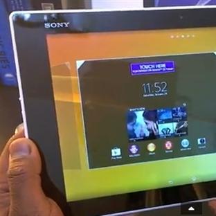 Xperia Z2 Tablet Kutudan Cıkıyor !