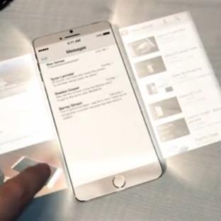 Yeni Holografik iPhone 6 Konsept'i