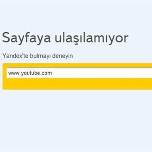Youtube Kapatıldı