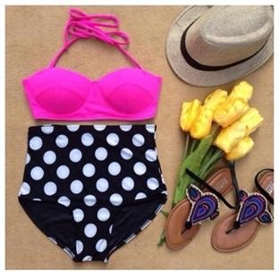 Yüksek Bel 2014 / 2015 Bikini Modelleri