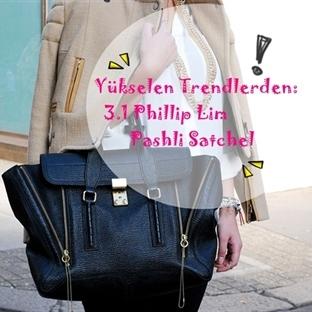 Yükselen Trendlerden:3.1 PhillipLim Pashli Satchel