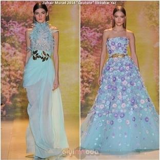 "Zuhair Murad 2014 Yaz ""Haute Couture"" Koleksiyonu"