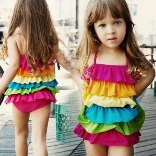 2014 Kız Çocuk Bikini Mayo Modelleri