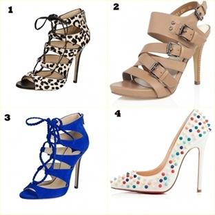 2014 İlkbahar/Yaz Ayakkabı Modelleri