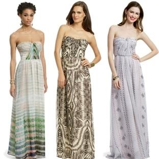 2014 Maksi elbise modası