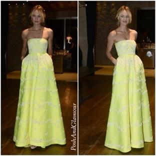 2014 Sao Paulo amfAR Gala:Candice Swanepoel