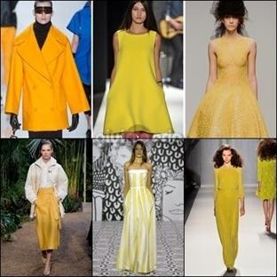 2014 Yılının En Trend Rengi SARI…