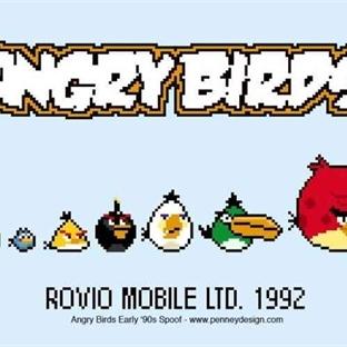 8-Bit Angry Birds Oyna ve Eğlencenin Tadına Var!