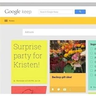 Aklınızdakileri 'Google Keep' ile not edin