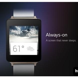 Android Giyilebilir LG G Watch Smartwatch Detaylar