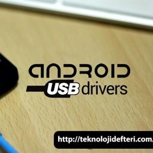Android USB Sürücüleri, Samsung, HTC, ASUS, Sony,
