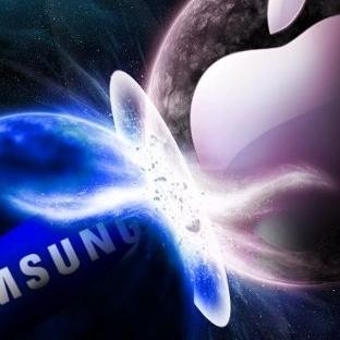 Apple ve Samsung'un Sokak Kavgası