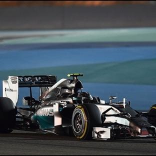 Bahreyn GP'inde Pole Bu Kez Nico Rosberg'in