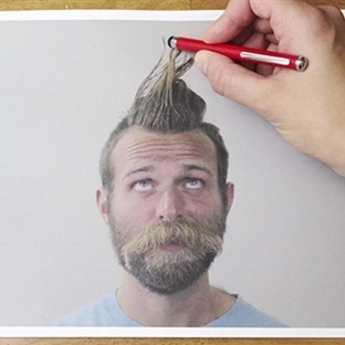 Ballpoint Barber – Stop Motion Video