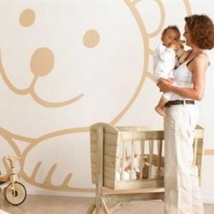 Bebeğinizin Odası İçin Eğlenceli Duvarlar