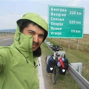 Bisiklet Seyyahı Melih Akdoğan