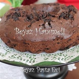 Cevizli, damla çikolatalı enfes kek