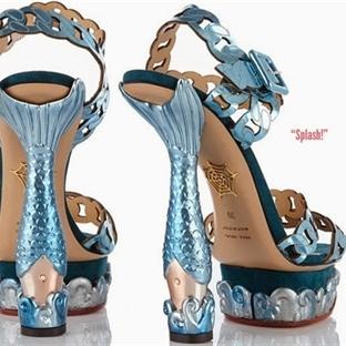 Charlotte Olympiadan çılgın ayakkabılar