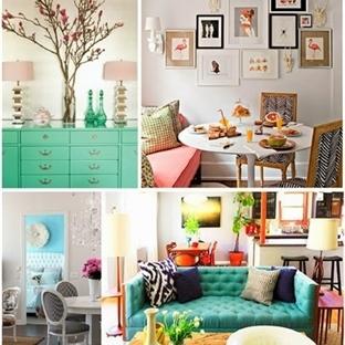 İçinizi Açacak Ev Dekorasyonları