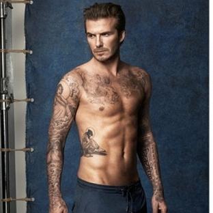 David Beckham - H&M Mayo Koleksiyonu