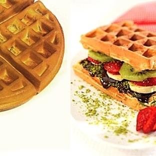 En iyi Gevrek yani Çıtır Waffle Tarifi